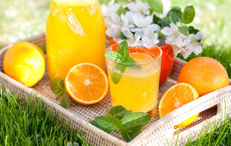 Как из 4 апельсинов сделать 9 литров сока