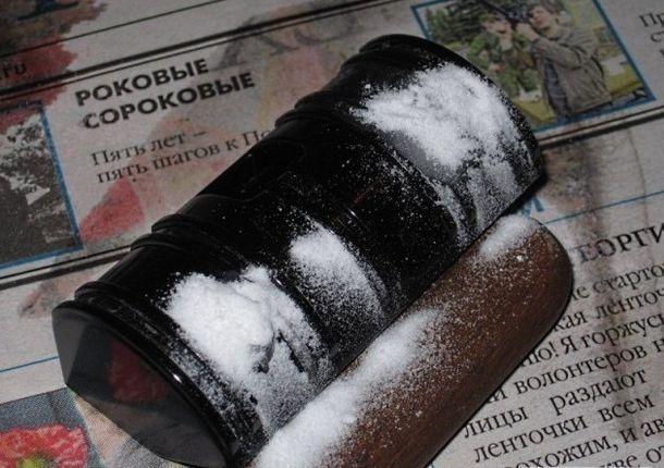 Сода, смешанная с суперклеем, способна творить чудеса!