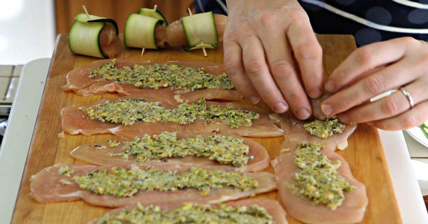 7 вариантов закуски из кабачка: и на пикник можно взять, и гостям подать не стыдно! С орехами — моя любимая.