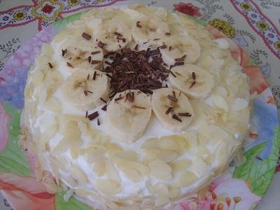 Вкуснейший банановый пирог всего за полчаса. Все пальчики оближут!