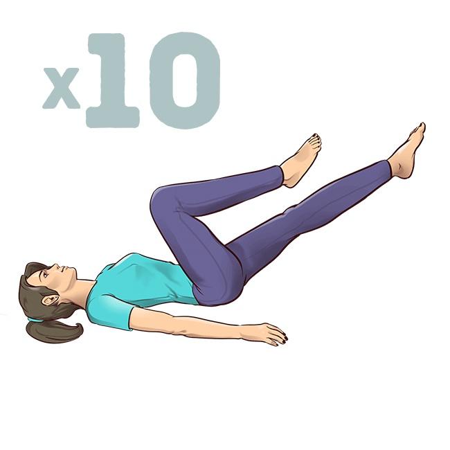 1-минутные упражнения на растяжку, которые спасут вас от боли в спине