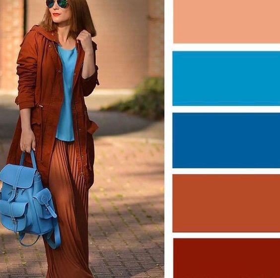Палитра сочетания сумок и одежды. Будь стильной!