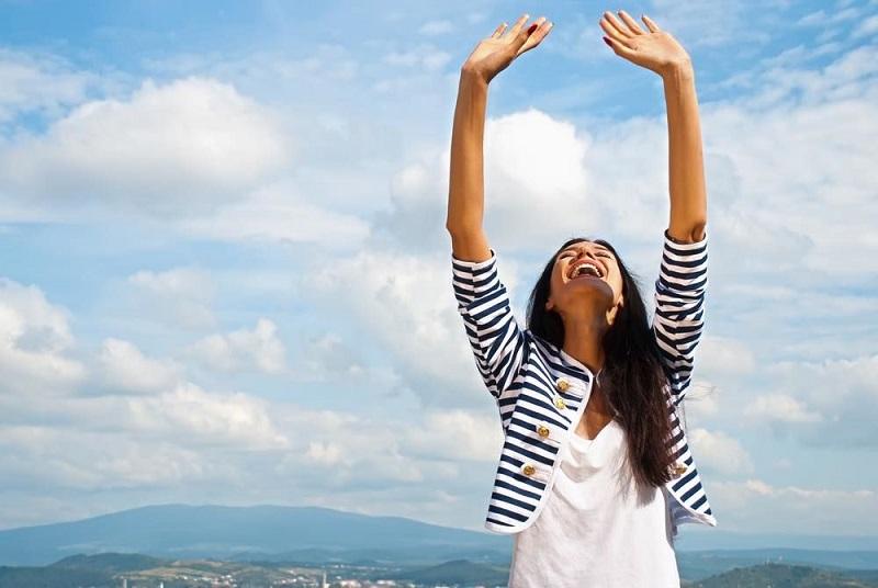 Не ленись поднимать руки вверх! На то есть четыре веские причины.