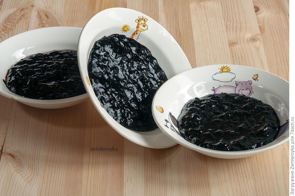Смоква из чёрной смородины