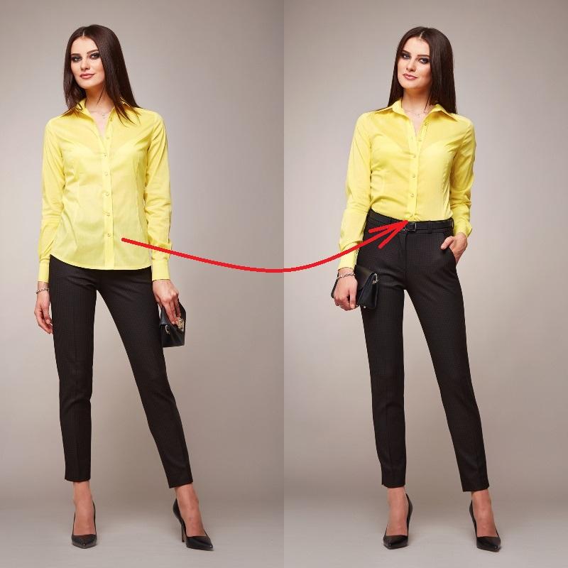Как соблюдать золотое сечение при выборе одежды