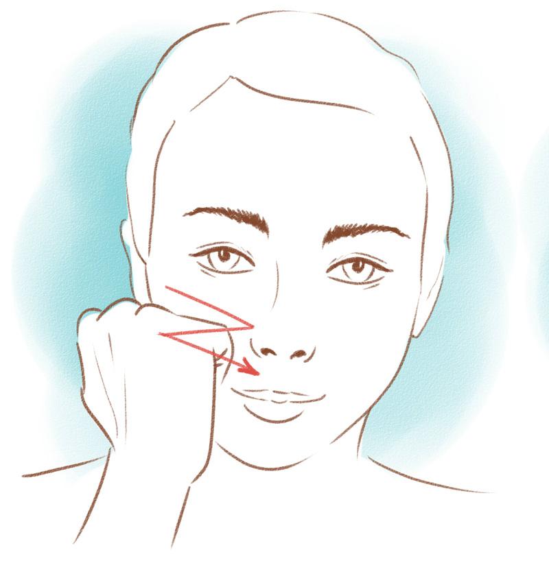 Мне 48, личный опыт. По вечерам снимаю напряжение в лицевых мышцах кулаками. Вернула лицу былую свежесть!