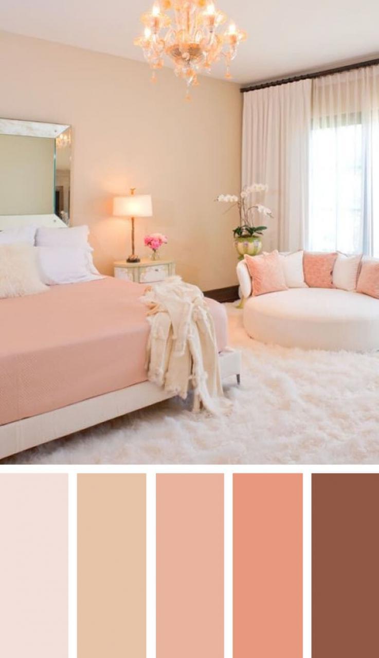 Стильная спальня без дизайнера.12 лучших вариантов цветовой палитры.