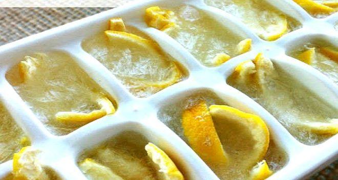 Заморозьте лимоны и попрощайтесь со многими проблемами