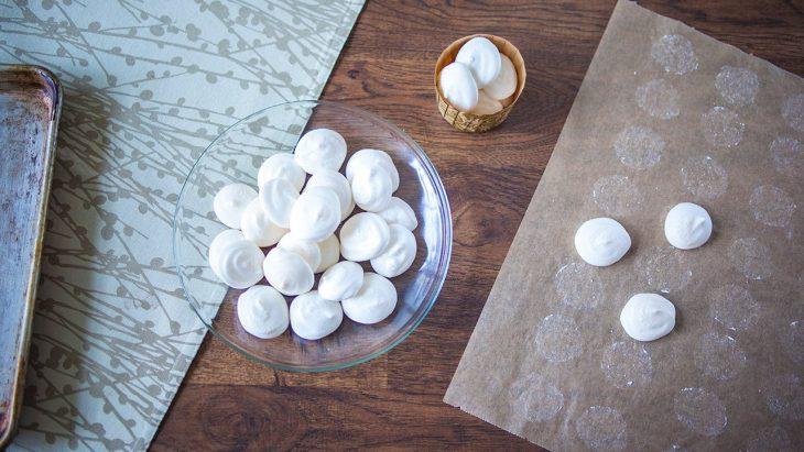 Как сделать постные безе без яиц