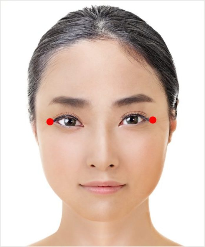 Японская техника омоложения кожи вокруг глаз, которая занимает всего 1 минуту