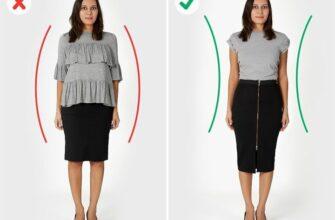 Какая одежда зрительно «добавляет килограммов»? Или как одеваться, чтобы выглядеть стройнее!