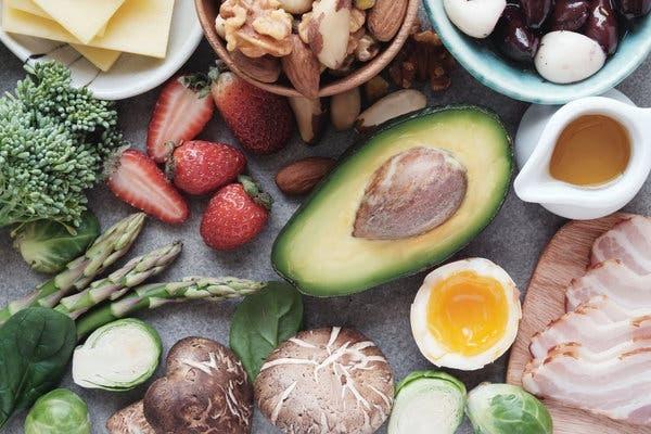 Кето диета: Схема питания