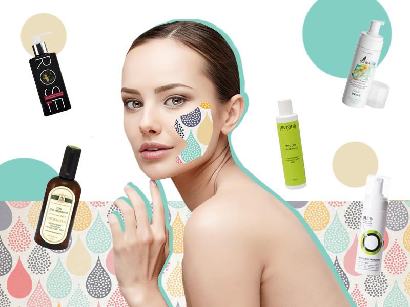 ТОП-5 экологических средств для очищения кожи