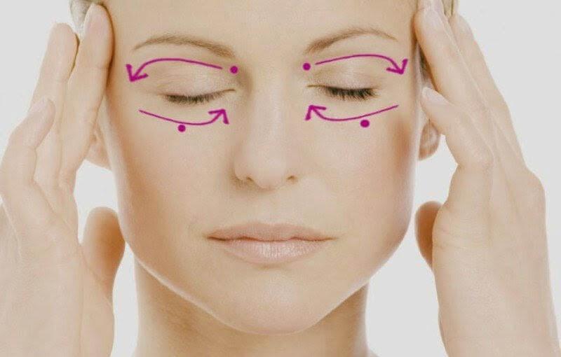 Лимфодренажный массаж век: Стираем усталость с лица!