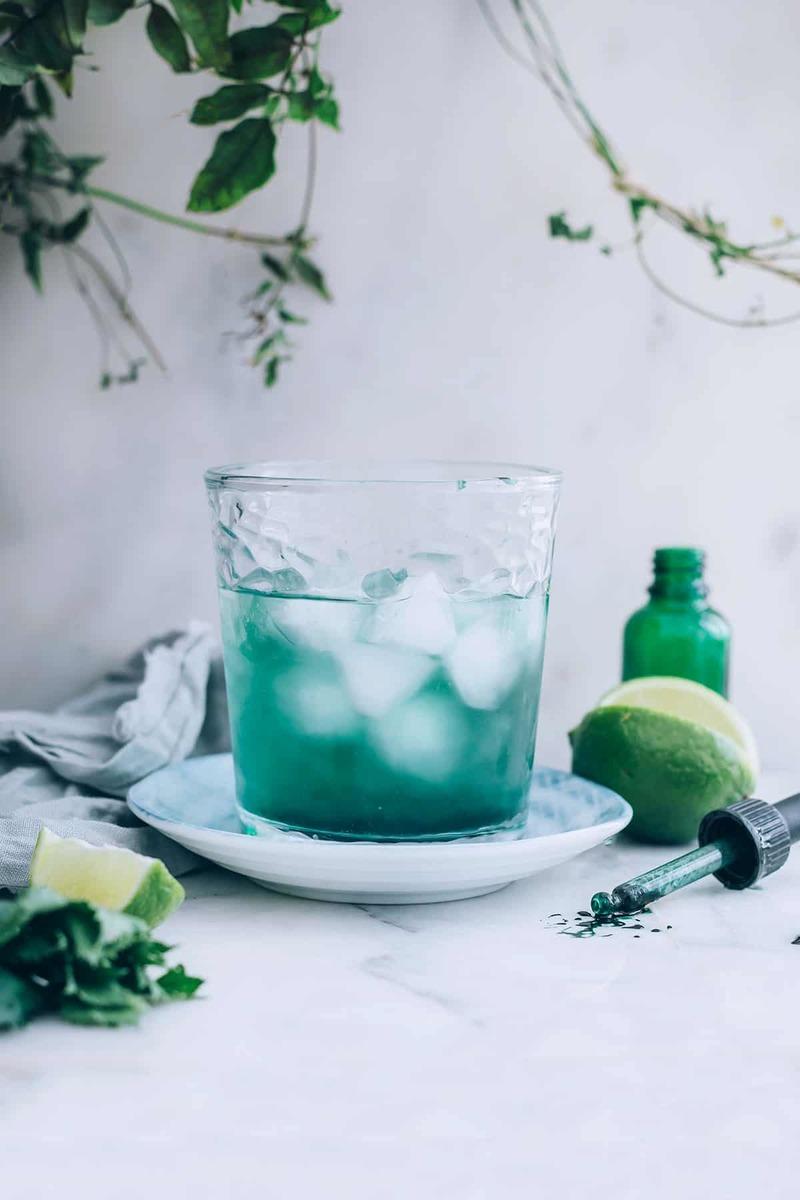 Супер полезный напиток Хлорофилл + Лайм: Очищает кишечник, печень и кровь!