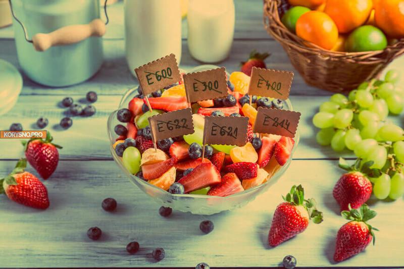 Пищевые добавки: Если в составе продукта более трех Е-компонентов откажитесь от него!