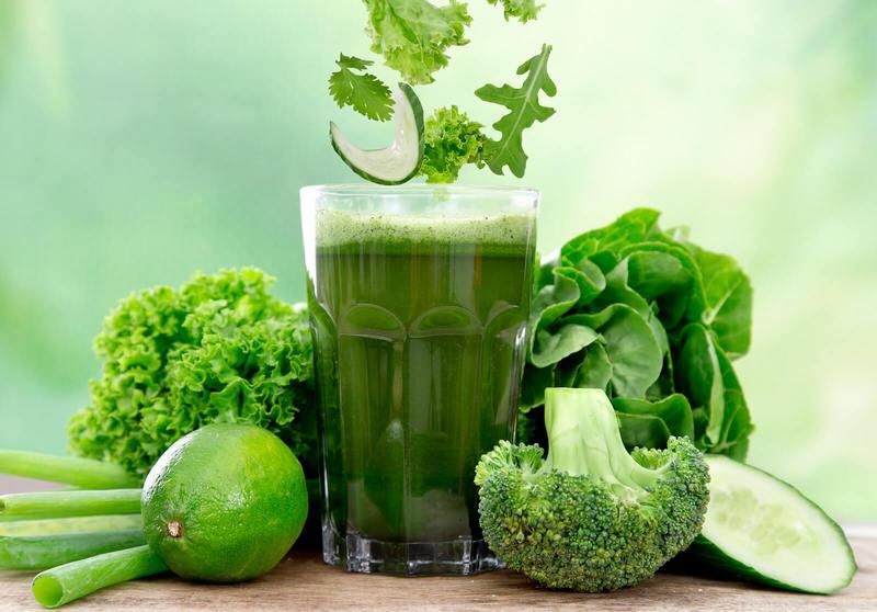 Как правильно готовить зеленые соки